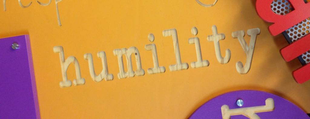 humility wall