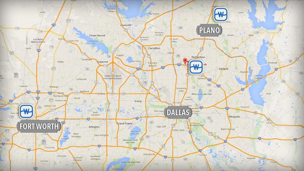 watermark church location map